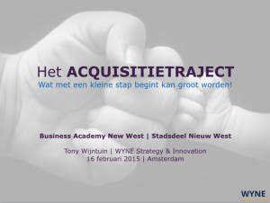 Acquisitie training