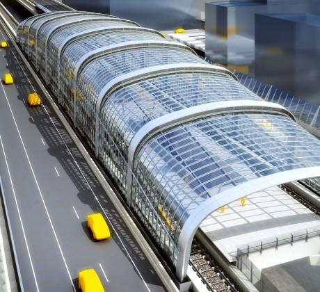 Metrostation Amsterdam Noord