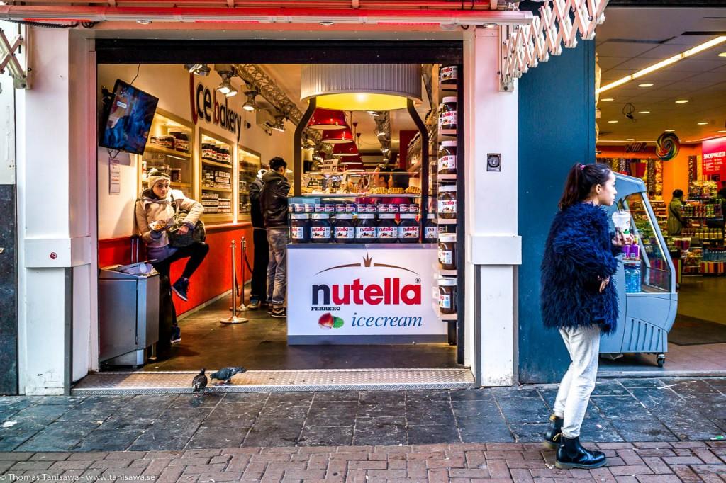Nutellawinkel Amsterdam