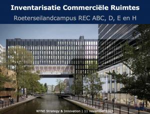 Inventarisatie commerciele ruimtes REC UvA_WYNE_2015